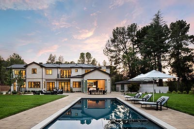A home in Atherton, California